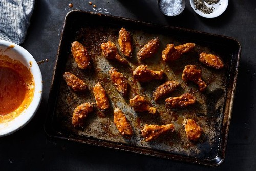 The Genius Little Secret to No-Fry, Crispy Buffalo Wings