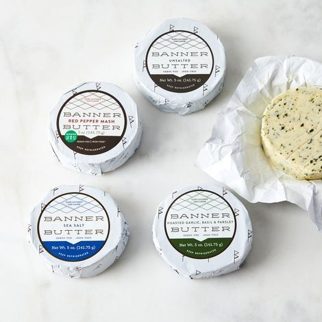 Grass-Fed Cultured Cream Butter Subscription on Food52