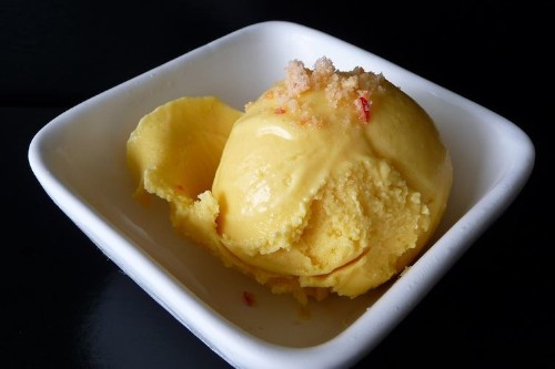 52 Scoops' Mango Ice Cream with Chili Sea Salt  Recipe on Food52