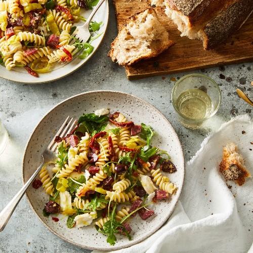 This Genius Italian Pasta Salad Breaks the #1 Rule in Pasta Cookery