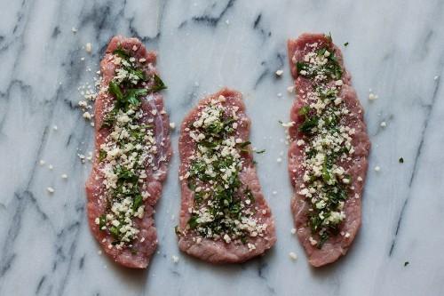 Beef Involtini: Fill, Roll, Sear, Douse,Done