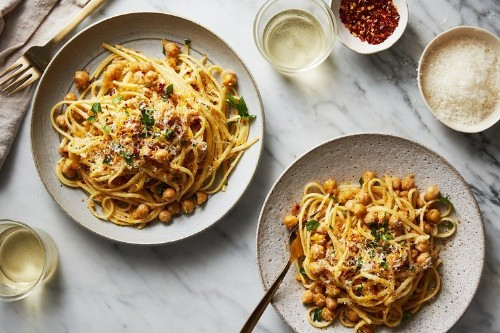 Linguine withChickpeas