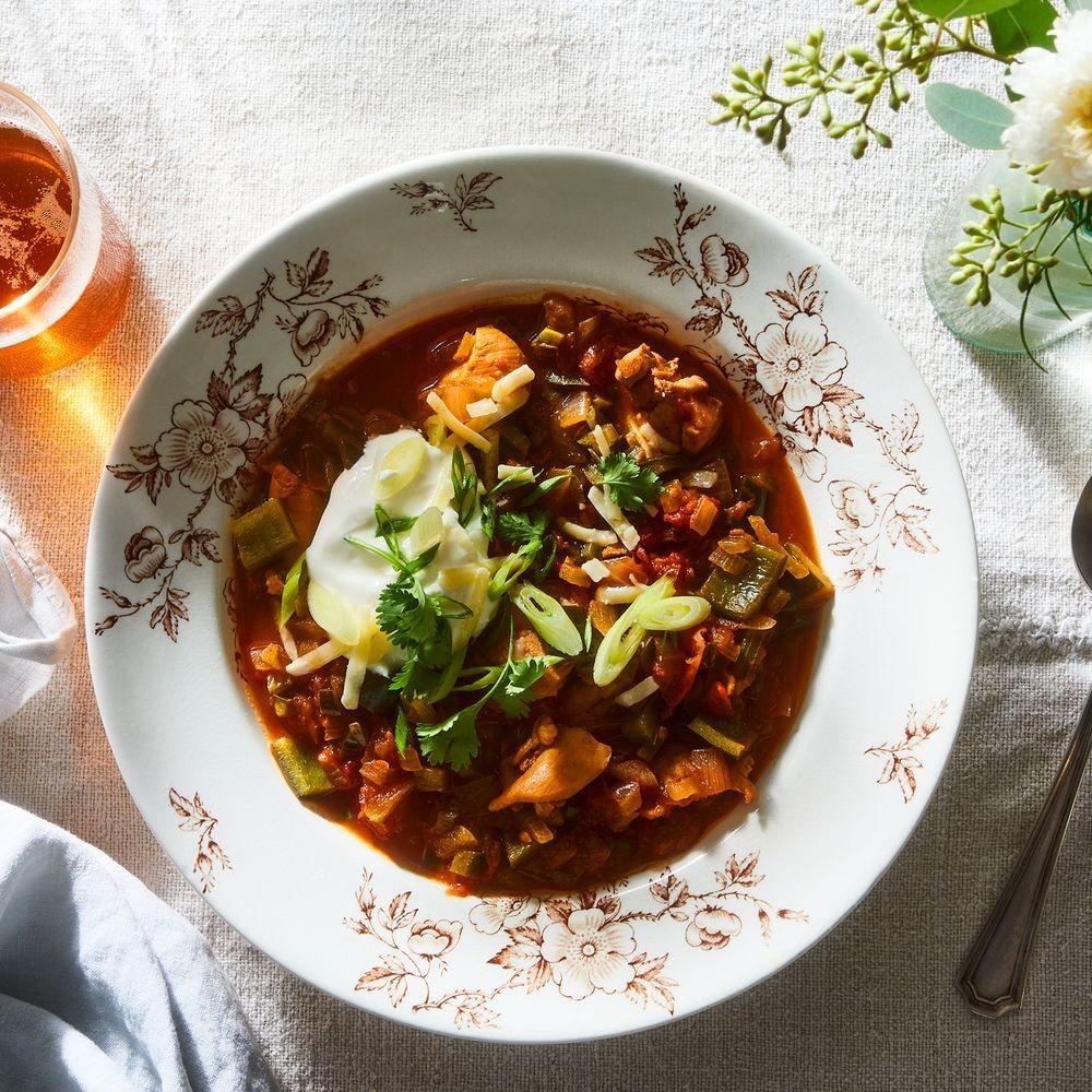 Chunky Chicken Chili Recipe