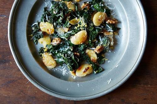 Giant Creamy White Beans with Kale - Genius Recipes