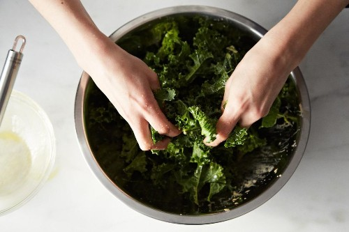 How to Make Kale Salad without a Recipe - Vegan Dinners