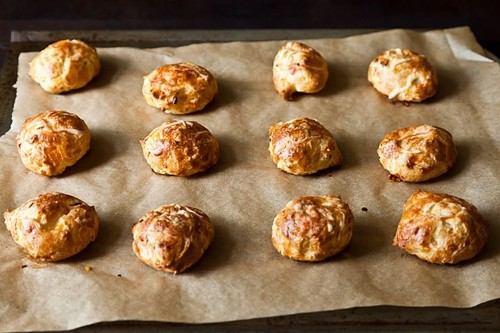 Pub Gougères with Anchovy and Cayenne Recipe on Food52