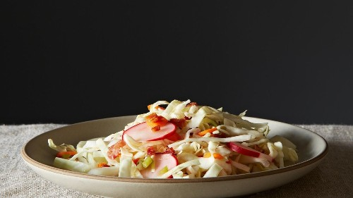 Pancetta Slaw with Chili-Lime Vinaigrette Recipe on Food52