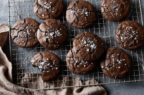 Salty Black Licorice BrownieCookies
