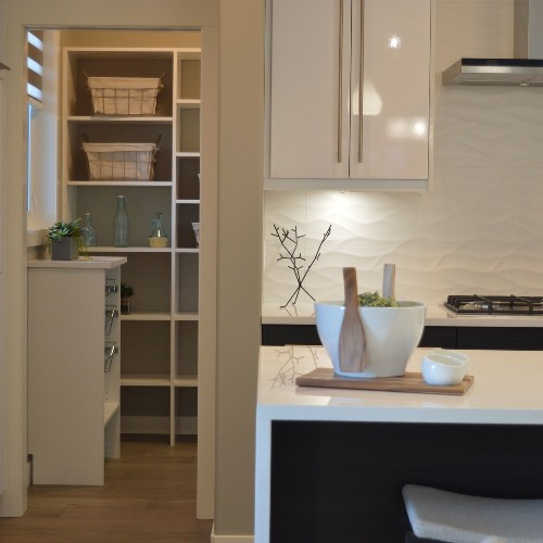 Before & After Pantry Kitchen Makeover Photos and Storage Tips