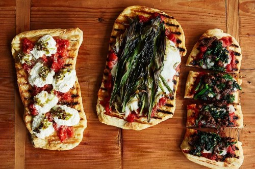 Make Your Pizza on Flatbread—and GrillIt