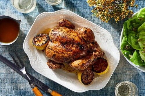 This Lemony Roast Chicken Is a Ray of Sunshine on a Winter Day