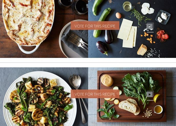 Finalists: Your Best Grilled VegetableDish