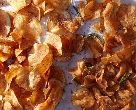 Buvette's Rosemary Potato Chips