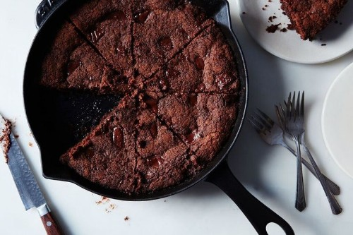 Brown Butter Ginger Chocolate Chip Skillet Cookie Recipe on Food52