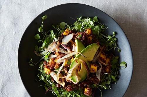 Quinoa & Mango Salad With Lemony-GingerDressing