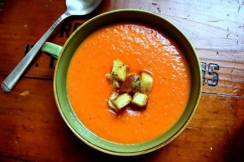 Slow Roasted TomatoSoup