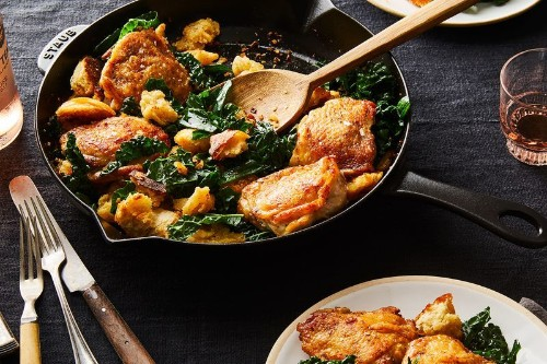 Legendary, Crispy-As-Heck Chicken Thighs We'd Want for Dinner AnyNight