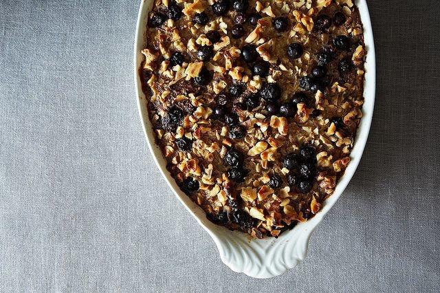 Heidi Swanson's Blueberry Baked Oatmeal Recipe