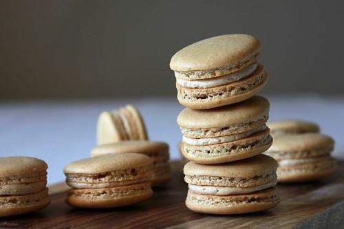 Espresso macarons Recipe on Food52