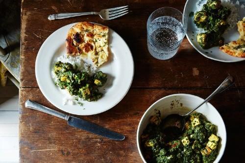 Vegan Palak Paneer Recipe on Food52
