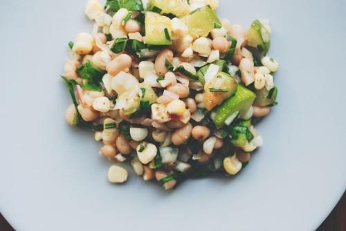 White Bean and Summer VegetableSalad