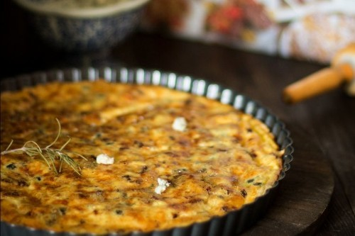 How to make Vatican's cheese quiche Recipe on Food52