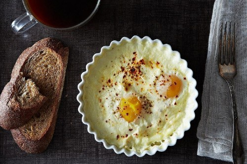 Amanda Hesser's Baked Eggs Recipe