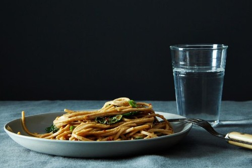 Spicy, Peanutty Udon with Kale Recipe on Food52