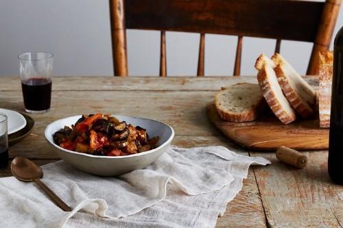 La Nonna's Sweet & Sour Eggplant Dip Recipe on Food52
