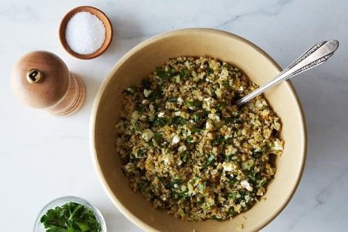 Freekeh Salad with Fennel andMint