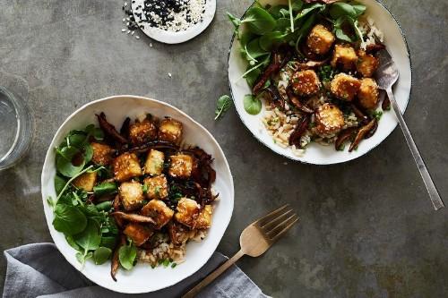 Hands-Off, No-Fry Tofu (It's Crispy,Too)