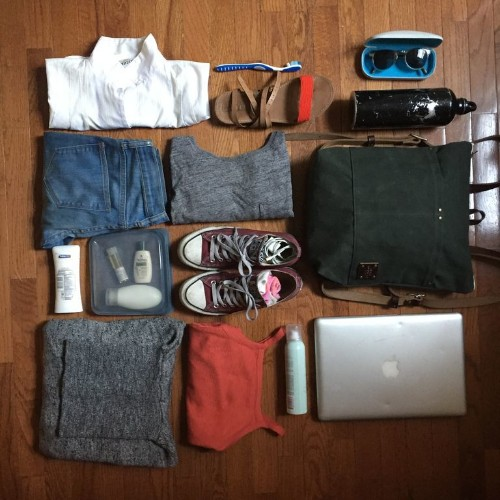 4 Packing Tips to Get a Weekend's Worth of Stuff in One Backpack