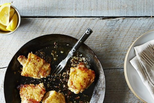 Canal House's Genius Chicken Thighs with Lemon Recipe on Food52