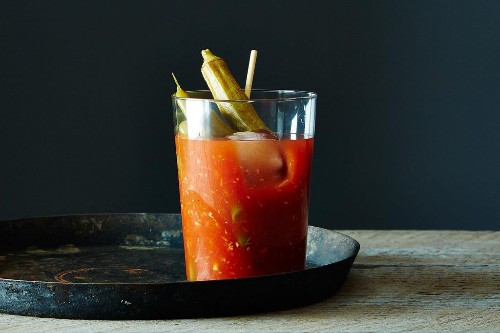 How to Make a Bloody Mary -- Uses for Pickles