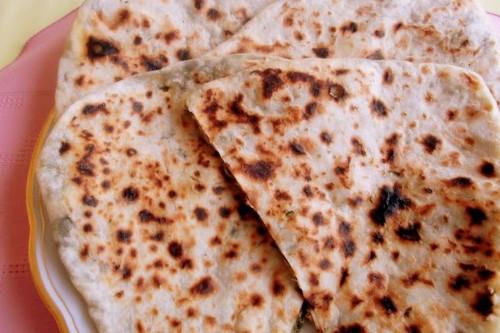 Kutabi, Azerbaijani Savory Pancakes Filled with Greens andHerbs
