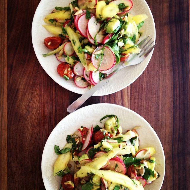 A Five-Minute Salad