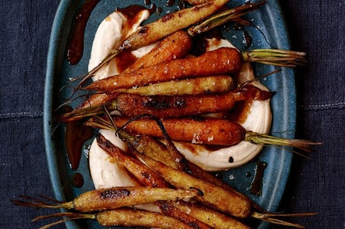 Sweet & Smoky Roasted Carrots