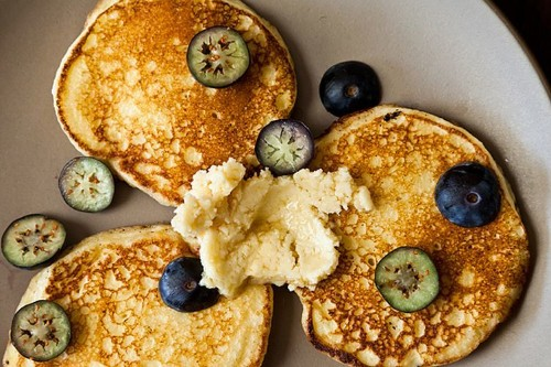 Ricotta Hotcakes with Maple Butter Recipe on Food52