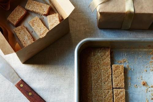 Cinnamon and Rye Shortbread Recipe on Food52