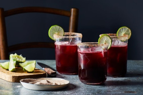 Warm Up with a Bright, Floral Margarita ThisWinter