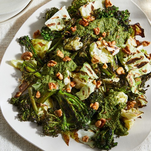 The Walnut Vinaigrette That Made My Kids Fall in Love With Broccoli