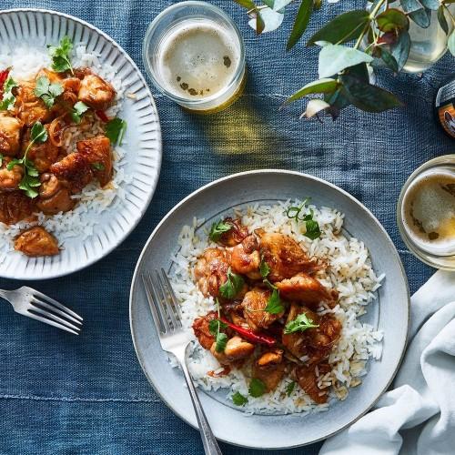 Caramelized Black Pepper Chicken From Charles Phan
