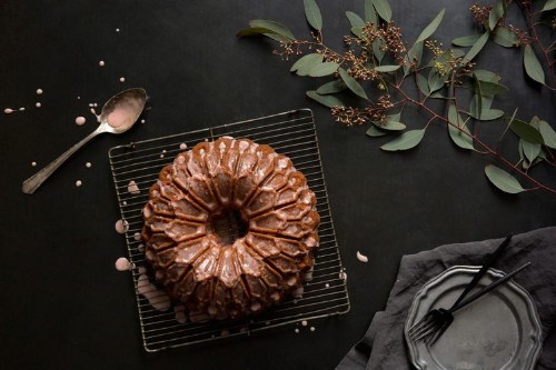 Blood Orange Yogurt Bundt Cake with a Bitters & Bourbon Glaze Recipe on Food52