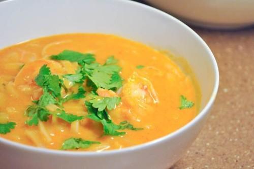 Thai Shrimp Fire PotSoup