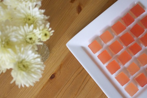 How to Make Champagne Rhubarb Jelly Shots