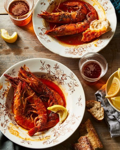 The Spicy, Saucy, Very Buttery BBQ Shrimp I Make Over &Over