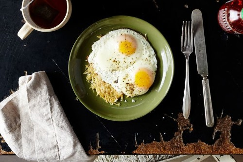 Two-Ingredient Egg and Cheese Breakfast Recipe