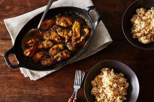 Maple-Curry Chicken withKale