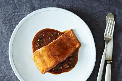 Tangy Teriyaki Salmon + Pad Thai Redux