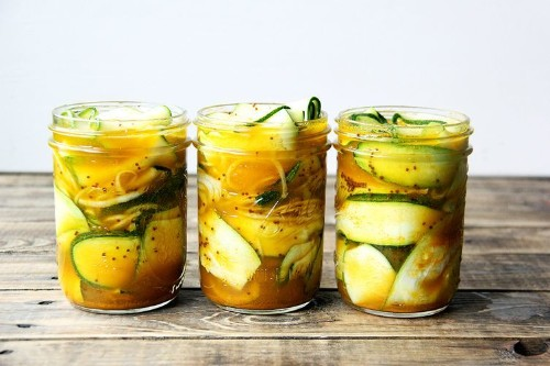 How to Make Zucchini Pickles